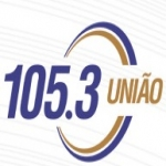 Logo da emissora R�dio Uni�o 105.3 FM