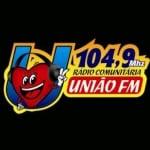 Logo da emissora R�dio Uni�o 104.9 FM