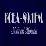 Logo da emissora Radio KCEA 89.1 FM