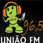 Logo da emissora R�dio Uni�o 96.5 FM