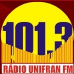 Logo da emissora Rádio Unifran 101.3 FM