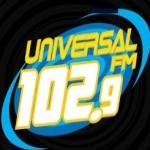 Logo da emissora R�dio Universal 102.9 FM