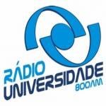 Logo da emissora Rádio Universidade 800 AM