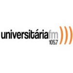 Logo da emissora R�dio Universit�ria 105.7 FM