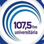 Logo da emissora Rádio Universitária 107.5 FM