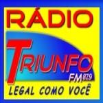 Logo da emissora R�dio Triunfo 87.9 FM
