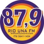 Logo da emissora R�dio Rio Una 87.9 FM