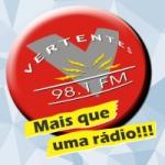 Logo da emissora R�dio Vertentes 98.1 FM