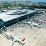 Logo da emissora Aeroporto Internacional de Fortaleza Pinto Martins