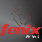 Logo da emissora Rádio Fênix 104.9 FM