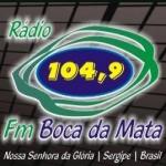 Logo da emissora R�dio Boca da Mata 104.9 FM
