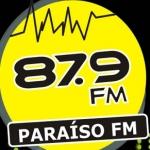 Logo da emissora R�dio Para�so 87.9 FM