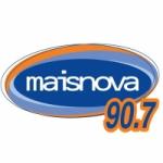 Logo da emissora R�dio Maisnova 90.7 FM