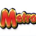Logo da emissora Rádio Metropolitana 105.5 FM