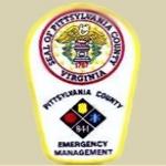 Logo da emissora Pittsylvania County Polícia-Bombeiro-EMS Scanner