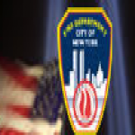 Logo da emissora New York FDNY Bombeiro Scanner 3