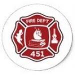 Logo da emissora Radio firemen Red Bluff Bombeiros
