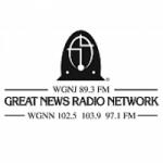 Logo da emissora Radio WGNN 102.5 FM