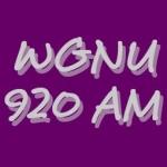 Logo da emissora WGNU 920 AM