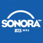 Logo da emissora R�dio Sonora 87.5 FM