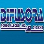 Logo da emissora Rádio Difusora 710 AM