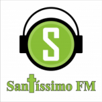 Logo da emissora Rádio Santíssimo FM