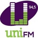Logo da emissora Radio Uni 94.5 FM