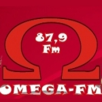 Logo da emissora R�dio Omega 87.9 FM
