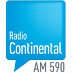 Logo da emissora Radio Continental 590 AM