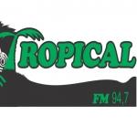 Logo da emissora R�dio Tropical 94.7 FM