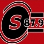 Logo da emissora R�dio Santana 87.9 FM