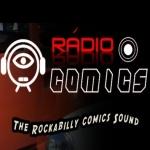 Logo da emissora Rádio Comics