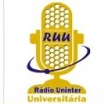 Logo da emissora Rádio Uninter Universitária