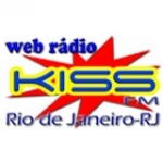 Logo da emissora Kiss FM Web Rádio