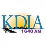 Logo da emissora Radio KDIA 1640 AM