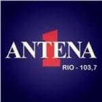 Logo da emissora Rádio Antena 1 103.7 FM