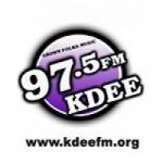 Logo da emissora Radio KDEE 97.5 FM