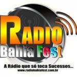 Logo da emissora Radio BahiaFest