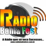 Logo da emissora Rádio BahiaFest