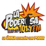 Logo da emissora Radio La poderosa 101.7 FM