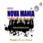 Logo da emissora Rádio Nova Mania