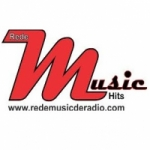 Logo da emissora Rede Music de Rádio Hits