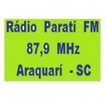 Logo da emissora R�dio Parati 87.9 FM
