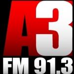 Logo da emissora R�dio A3 91.3 FM