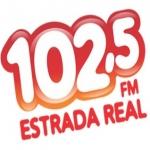 Logo da emissora R�dio Estrada Real 102.5 FM