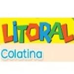 Logo da emissora R�dio Litoral 98.1 FM