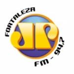 Logo da emissora Rádio Jovempan 94.7 FM