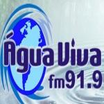 Logo da emissora R�dio �gua Viva 91.9 FM