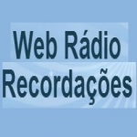 Logo da emissora WebR�dio Recorda��es