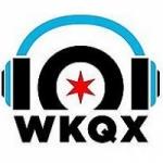 Logo da emissora Radio WKQX 101.1 FM